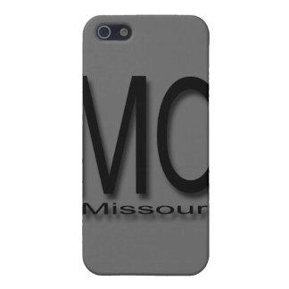 Coque iPhone 5 Noir du Missouri