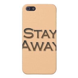 Coque iPhone 5 Restez loin le gld
