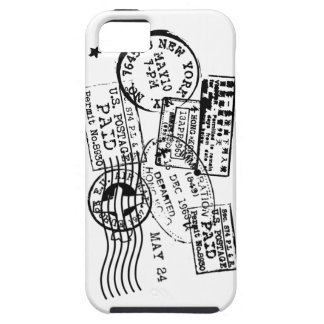 COQUE iPhone 5 SE MARIE STAMPS