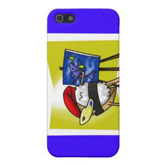 Coque iPhone 5 Vincent Van Sushi Gifts attaque les cartes etc.