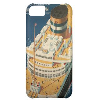 Coque iPhone 5C Bateau transatlantique vintage