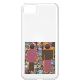 Coque iPhone 5C Beaux couples - indicateur hommes-femmes