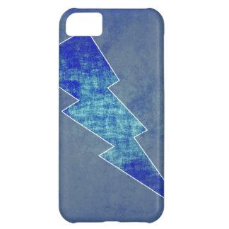 Coque iPhone 5C Boulon bleu