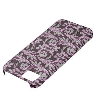 Coque iPhone 5C Caisse 5c Pourpre-Blanche-iPhone de vagues