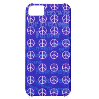 Coque iPhone 5C cas de l'iPhone 5 d'art de signe de paix des