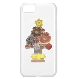Coque iPhone 5C Cas d'IPhone 5C d'arbre de Noël de Steampunk