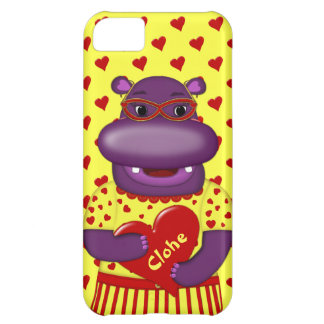 Coque iPhone 5C Cas du l'Hippopotame-iPhone 5c de Henrietta