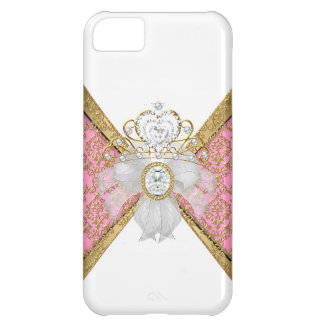 Coque iPhone 5C Cas Girly de parties scintillantes de jewell