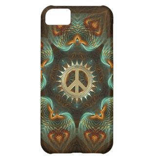 Coque iPhone 5C Cas intérieur de l'iPhone 5 d'anges de paix