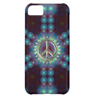 Coque iPhone 5C Cas super de l'iPhone 5 de signe de paix de