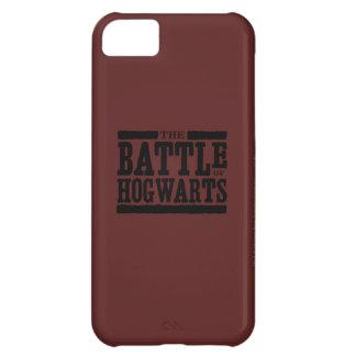 Coque iPhone 5C Charme | de Harry Potter la bataille de Hogwarts