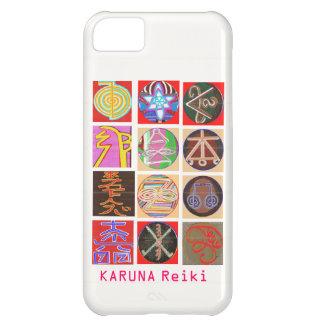 Coque iPhone 5C Étincelle miniature Blaast des symboles n de REIKI