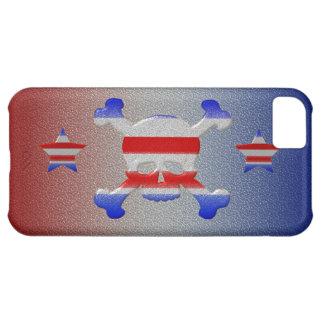 Coque iPhone 5C Étoiles de cool et iPhone patriotique 5 des