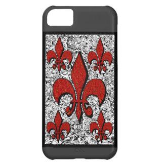 Coque iPhone 5C Fleur-De-Lis, iphone-5