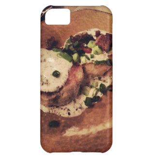 Coque iPhone 5C Gâteaux de crabe (nourriture et boisson)