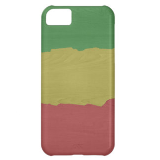 Coque iPhone 5C Grain en bois de Rasta