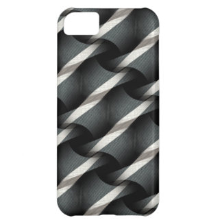 Coque iPhone 5C Gris + Cas génial de l'iPhone 5 de motif d'armure
