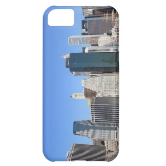 Coque iPhone 5C Horizon de Manhattan, New York City