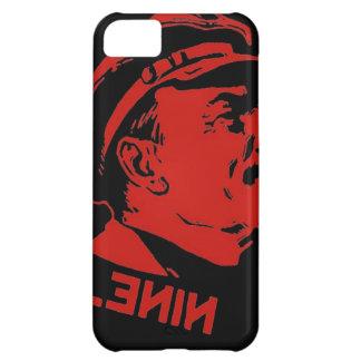 Coque iPhone 5C Illustration noire et rouge de communiste de