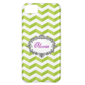 Coque iPhone 5C la caisse verte de l'iPhone 5 de /White des