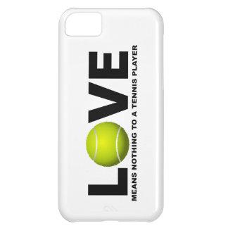 Coque iPhone 5C L'amour ne signifie rien à un iPhone 5 de joueur