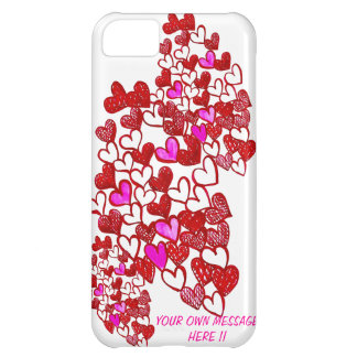 Coque iPhone 5C Le coeur IPHONE 5 de Valentine coque-Personnalisen