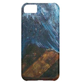 Coque iPhone 5C Le vieux bois de grange