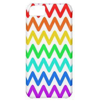 Coque iPhone 5C Motif de zigzag coloré - cas de l'iPhone 5