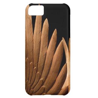 Coque iPhone 5C Mouche loin sur les ailes en bois !
