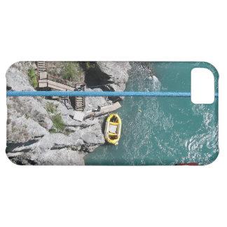 Coque iPhone 5C Pont Bungy POV, Queenstown, Nouvelle Zélande de