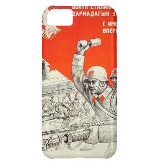 Coque iPhone 5C Propagande russe de 2ÈME GUERRE MONDIALE