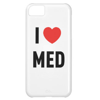 Coque iPhone 5C Se marie I Love Med