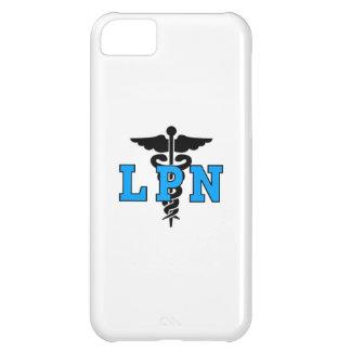 Coque iPhone 5C Symbole médical d'infirmière de LPN