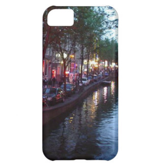 Coque iPhone 5C Une soirée à Amsterdam