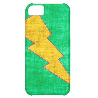 Coque iPhone 5C Vert et jaune