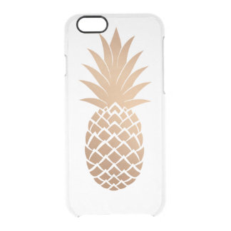 Coque iPhone 6/6S Ananas d'or