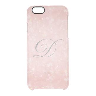 Coque iPhone 6/6S Argent dans l'iPhone rose rose fascinant du