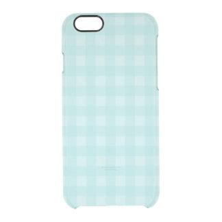 Coque iPhone 6/6S Arrière - plan Checkered de motif de rétro guingan