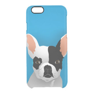 Coque iPhone 6/6S Art de bouledogue - bouledogue français