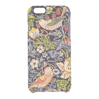 Coque iPhone 6/6S Art floral Nouveau de voleur de fraise de William