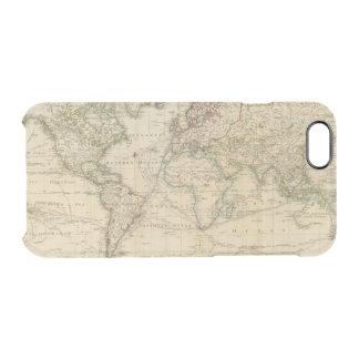 Coque iPhone 6/6S Carte couleur de main du monde