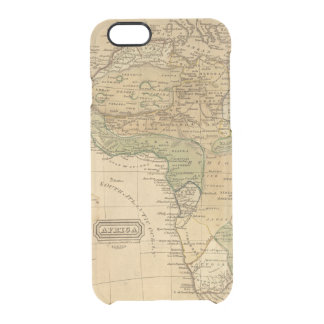 Coque iPhone 6/6S Carte de l'Afrique par Worcester