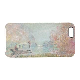 Coque iPhone 6/6S Claude Monet | le studio de bateau sur la Seine,