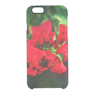 Coque iPhone 6/6S collection florale. rouge