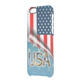 Coque iPhone 6/6S Drapeau américain embobiné
