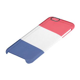 Coque iPhone 6/6S Drapeau brillant français