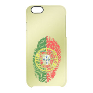 Coque iPhone 6/6S Drapeau d'empreinte digitale de contact de