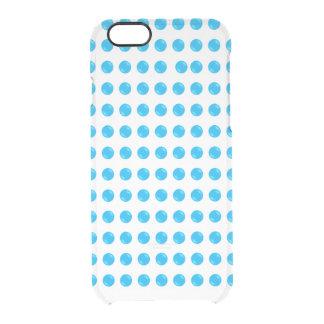Coque iPhone 6/6S Éclat pointillé par bleu