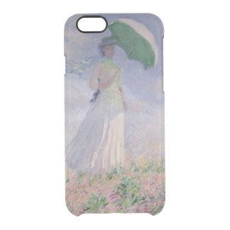 Coque iPhone 6/6S Femme de Claude Monet | avec un parasol tourné à