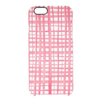Coque iPhone 6/6S iPhone transparent 6 d'espace libre de cas de